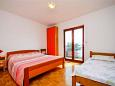 Bedroom - Apartment A-11045-b - Apartments Mimice (Omiš) - 11045