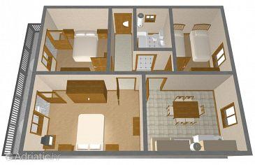 Apartment A-1105-a - Apartments Kanica (Rogoznica) - 1105