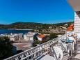 Kanica, Balcony u smještaju tipa apartment, s pogledom na more i WIFI.