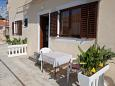 Terrace - Studio flat AS-11074-b - Apartments Bibinje (Zadar) - 11074