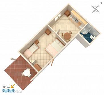 Mavarštica, Plan u smještaju tipa apartment, WIFI.