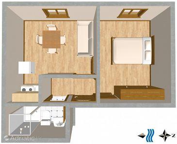 Apartment A-1109-d - Apartments Mavarštica (Čiovo) - 1109