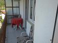 Balcony - Studio flat AS-11155-a - Apartments Podaca (Makarska) - 11155