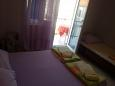 Bedroom - Studio flat AS-11155-a - Apartments Podaca (Makarska) - 11155