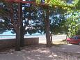 Parking lot Seline (Paklenica) - Accommodation 11197 - Apartments near sea with pebble beach.