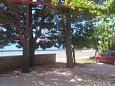 Seline, Paklenica, Parking lot 11197 - Apartments blizu mora with pebble beach.