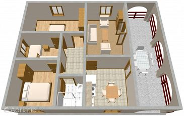 Apartment A-1120-a - Apartments Mavarštica (Čiovo) - 1120