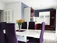 Grebaštica, Dining room u smještaju tipa apartment, dostupna klima, dopusteni kucni ljubimci i WIFI.