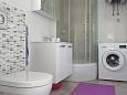 Grebaštica, Bathroom u smještaju tipa apartment, dopusteni kucni ljubimci i WIFI.