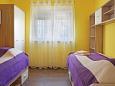 Grebaštica, Bedroom 2 u smještaju tipa apartment, dopusteni kucni ljubimci i WIFI.