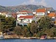 Property Grebaštica (Šibenik) - Accommodation 11209 - Apartments near sea with pebble beach.