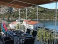 Terrace 1 - view - Apartment A-11214-a - Apartments Vinišće (Trogir) - 11214