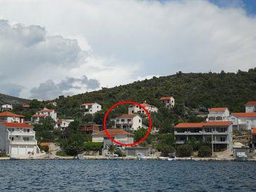 Property Vinišće (Trogir) - Accommodation 11214 - Apartments near sea with pebble beach.