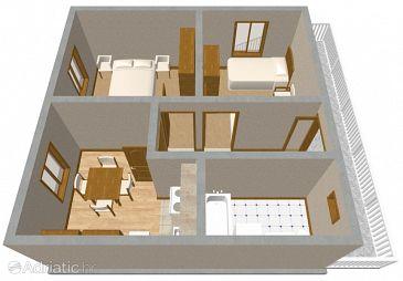 Apartment A-1124-a - Apartments Arbanija (Čiovo) - 1124