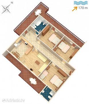 Apartment A-1125-a - Apartments and Rooms Arbanija (Čiovo) - 1125