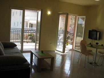 Jezera, Living room u smještaju tipa apartment, dostupna klima i WIFI.