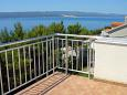 Terrace - view - Apartment A-1131-d - Apartments Marušići (Omiš) - 1131
