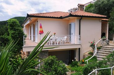 Property Rabac (Labin) - Accommodation 11325 - Apartments with pebble beach.