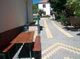 Parking lot Biograd na Moru (Biograd) - Accommodation 11380 - Apartments with pebble beach.