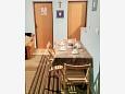Dining room - Apartment A-11384-b - Apartments Maslenica (Novigrad) - 11384