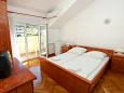 Bedroom 1 - Room S-1139-g - Apartments and Rooms Slatine (Čiovo) - 1139
