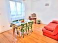 Fažana, Obývací pokoj u smještaju tipa house, dostupna klima i WIFI.