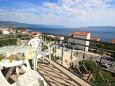 Novi Vinodolski, Balcony 1 u smještaju tipa apartment, s pogledom na more, dopusteni kucni ljubimci i WIFI.