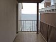 Podgora, Balcony 1 u smještaju tipa apartment, s pogledom na more, dopusteni kucni ljubimci i WIFI.