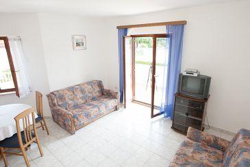 Privlaka, Living room u smještaju tipa apartment, WIFI.