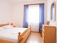 Privlaka, Bedroom u smještaju tipa apartment, WIFI.