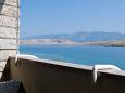 Balcony - view - Room S-11487-b - Apartments and Rooms Pag (Pag) - 11487