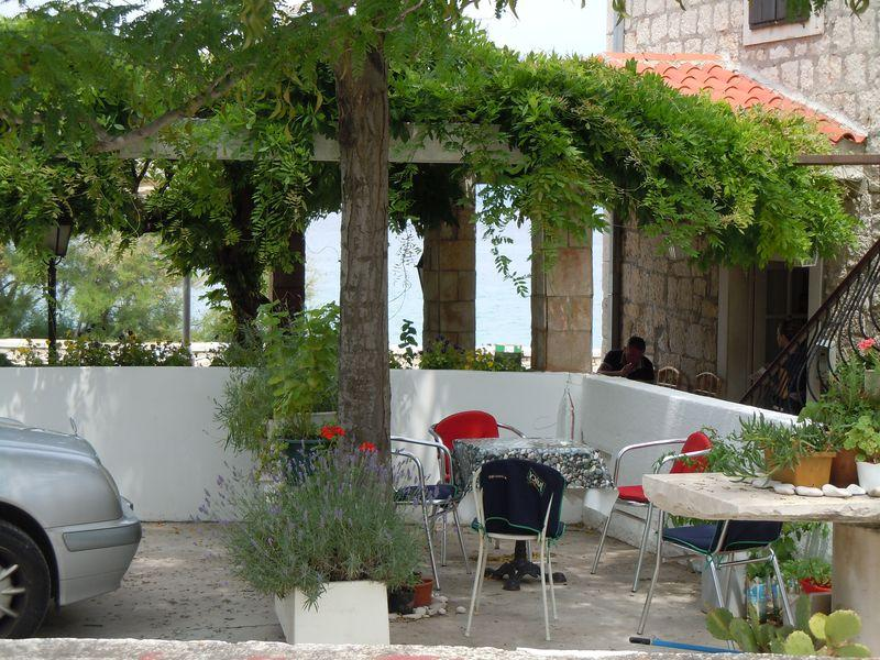 Apartmán na pláži v meste Supetar - 11497