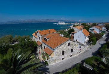 Property Supetar (Brač) - Accommodation 11497 - Apartments and Rooms near sea with pebble beach.