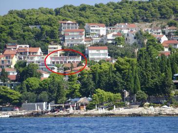 Obiekt Hvar (Hvar) - Zakwaterowanie 115 - Apartamenty ze żwirową plażą.