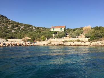 Property Uvala Vitane (Pašman) - Accommodation 11515 - Vacation Rentals near sea with rocky beach.