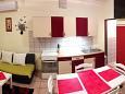 Povljana, Kitchen u smještaju tipa apartment, WIFI.