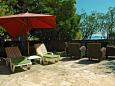 Courtyard Sevid (Trogir) - Accommodation 11529 - Apartments near sea with pebble beach.