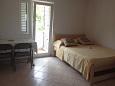 Bedroom - Studio flat AS-11546-a - Apartments Veli Iž (Iž) - 11546