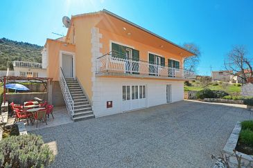 Marina, Trogir, Property 11554 - Vacation Rentals with pebble beach.