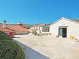 Marina, Trogir, Parking lot 11554 - Vacation Rentals with pebble beach.