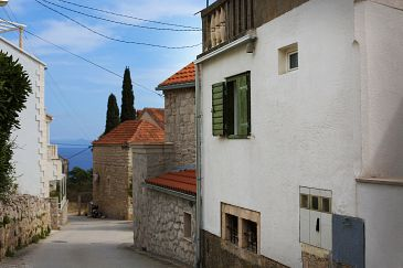 Property Bol (Brač) - Accommodation 11568 - Apartments with pebble beach.