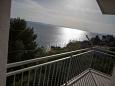 Suhi Potok, Terrace u smještaju tipa apartment, s pogledom na more i WIFI.