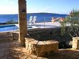 Terrace - view - House K-11590 - Vacation Rentals Uvala Pernatice (Drvenik) - 11590