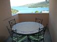 Balcony - Studio flat AS-11607-a - Apartments Marina (Trogir) - 11607