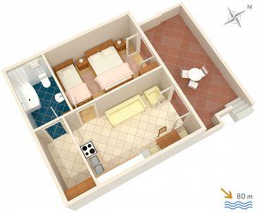 Apartament A-1162-a - Apartamenty Marina (Trogir) - 1162