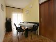Vodice, Dining room u smještaju tipa apartment, WIFI.