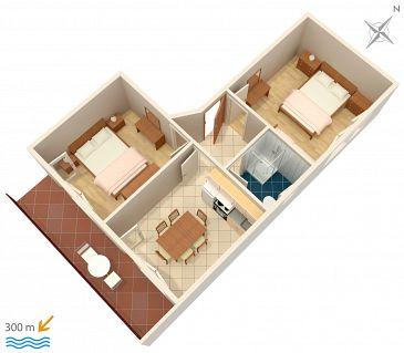 Apartament A-1165-c - Apartamenty Vinišće (Trogir) - 1165