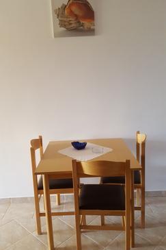 Starigrad, Dining room u smještaju tipa apartment, dostupna klima i WIFI.