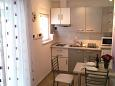 Trogir, Kitchen u smještaju tipa studio-apartment, WIFI.