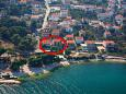 Property Mastrinka (Čiovo) - Accommodation 11711 - Apartments near sea with pebble beach.